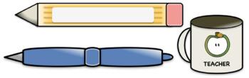 {Back to School} Clip Art Set for Teachers & SLPs