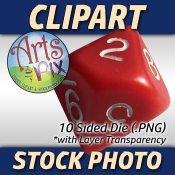 "! ""Back to School"" Clipart Stock Photo of 10 Sided DIE"