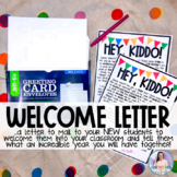 """""""Back to School"""" - Student Welcome Letter"""