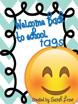 **Back to School tags**