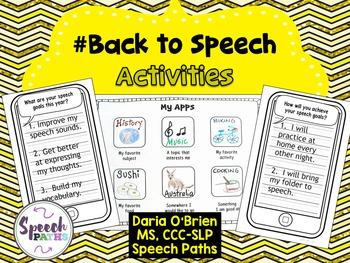 #Back to Speech Activities