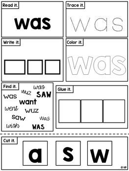 A Sight Word a Day Keeps the Doctor Away - Primer