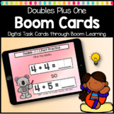DISTANCE LEARNING Boom Cards Doubles Plus One