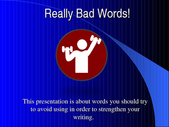 """""""Bad Words"""" lesson"""