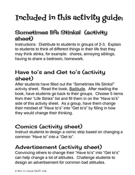 """""""Baditude"""" Activity Guide"""