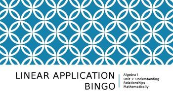 Linear Application Bingo