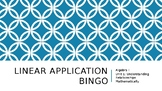 Linear Application Bingo
