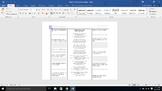 """""""Ballad Of Birmingham"""" analysis worksheet"""