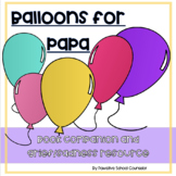 """""""Balloon For Papa"""" Book companion activity of grief and coping"""