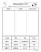 """Ballpark"" Estimates Math Measurement Review Worksheet Pack--4 sheets!"