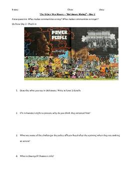 """""""Baltimore Rising"""" Viewing Guide/Worksheet"""