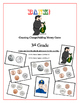"""""""Bank!"""" Identifying & Counting Coins 3rd Grade Game Packet"""