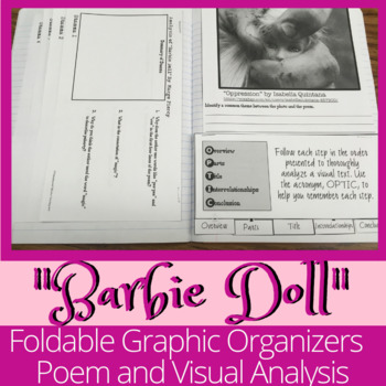 """""""Barbie Doll"""" Poetry Analysis for Interactive Notebook"""