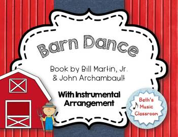 """""""Barn Dance"""" - Autumn Book (Bill Martin, Jr) with Accompaniment & Dance"""
