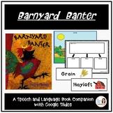 """""""Barnyard Banter"""" A Spring Speech Therapy Book Companion a"""