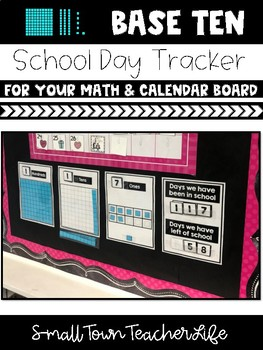 >>>Base Ten Days of School Bulletin Board Set>>>