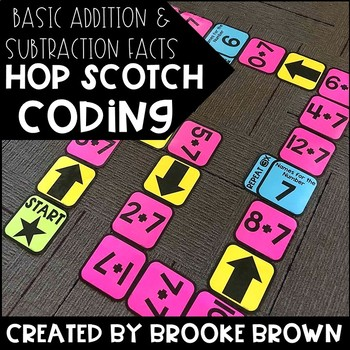 (Basic Facts) Hop Scotch Coding
