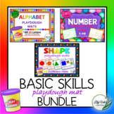 """Basic Skills Playdough Mat Bundle"" from LilyVale Learning"