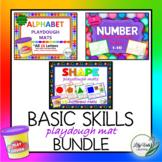 """Basic Skills Playdough Mat Bundle"" from LilyVale Learning"