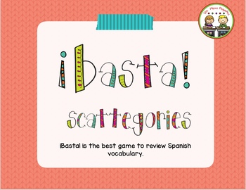 """Basta"" (Scattegories)"