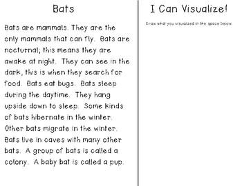 """Bats"" Close Read & Visualizing Passage"