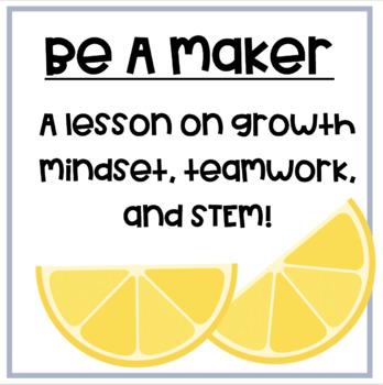 """Be A Maker"" By Katey Howes Activity Set"