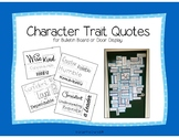 Be Yourself Bulletin Board Set with Quotes, Back to School