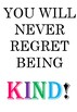 'Be Kind' themed poster - 5 A4 Posters Included