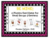 """Be Mine!"" ~ A Valentine's Day-Themed CVC Phonics Game"