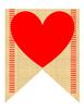 """""""Be Mine"""" Valentine Banner"""