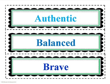 Positive Character Traits