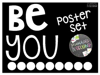 """""""Be You"""" Poster Set"""