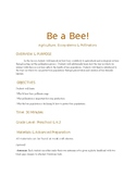 """Be a Bee"" Pollination Activity"