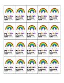 """""""Be a Rainbow..."""" Brag Tags"""