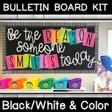 """Be the reason someone smiles today"" Bulletin Board Kit"