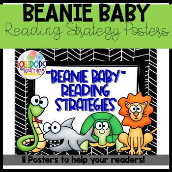 """Beanie Baby"" Reading Strategies"