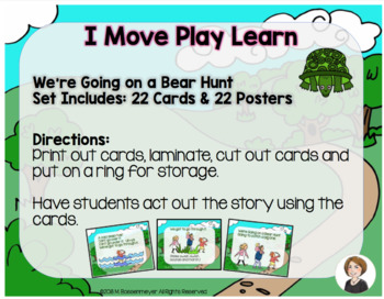 """""""Bear Hunt"""" Movement Cards & Posters"""
