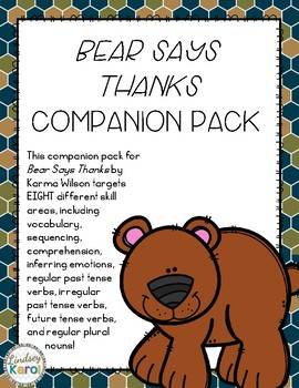 """Bear Says Thanks"" Companion Pack"