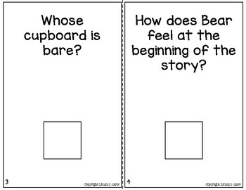 """""""Bear Says Thanks"""" Companion Pack: A Story Retelling Guide"""