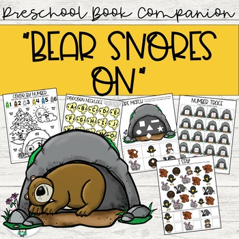 """""""Bear Snores On"""" Story Companion"""