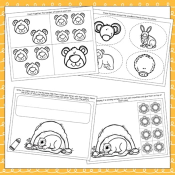 """""""Bear Snores On"""" Toddler Curriculum"""