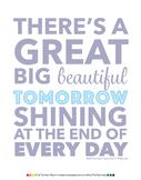 'Beautiful Tomorrow' Poster