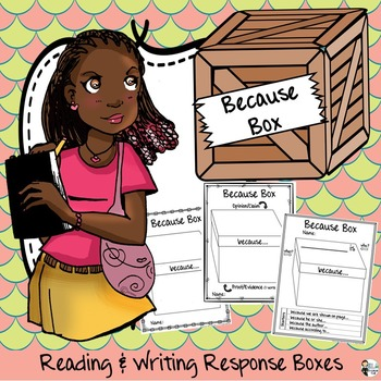 """""""Because Box"""" Reading and Writing Response Prompts"""