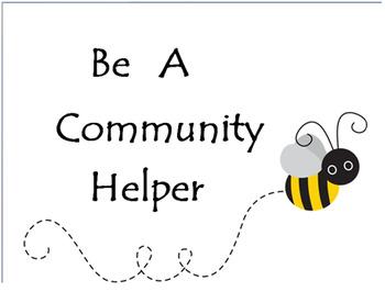 """Bee"" A Community Helper"