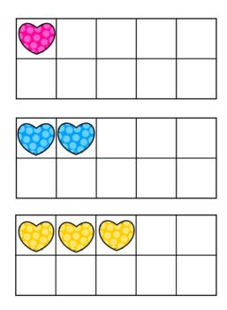 """""""Bee Mine"""" Valentine Tens Frame Match Activity"""