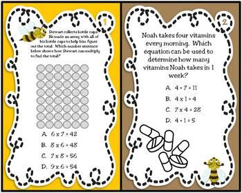 """Bee"" Ready for Multiplication (3rd Grade TEKS-based Unit 3)"