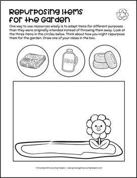 """Bee"" Resource Wise - Girl Scout Daisies - ""Clover - Green Petal"" (Steps 2 & 3)"