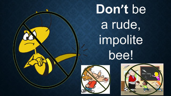 """Bee"" Respectful PBIS Monthly Character Trait PowerPoint"