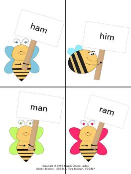 """CVC words: """"Bee"""" a Star"""