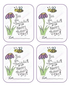 """""""Bee""""utiful Mother's Day Card"""